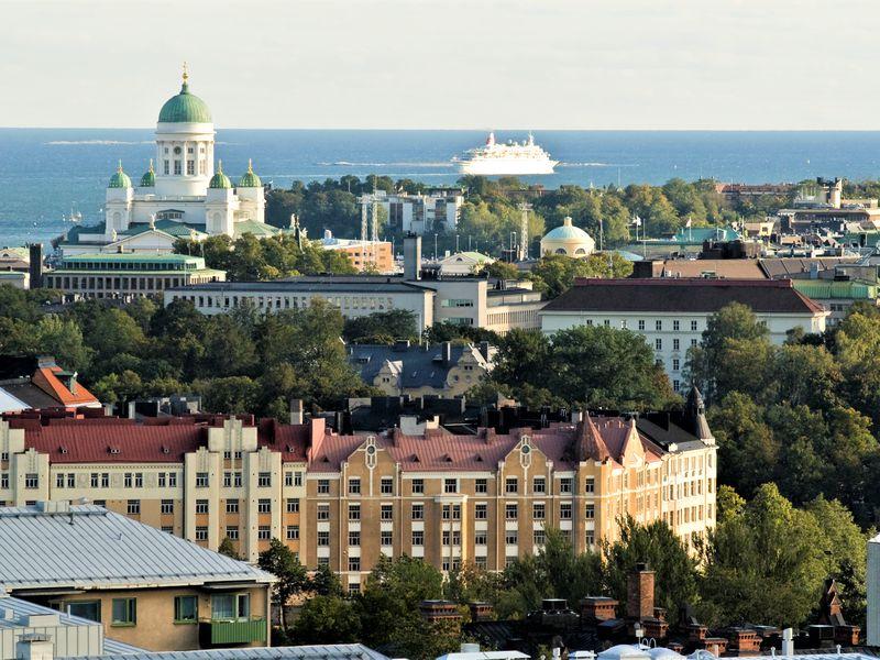 Ежедневная прогулка по Хельсинки