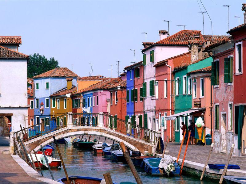 Экскурсия Венецианское трио: острова Мурано, Бурано и Торчелло