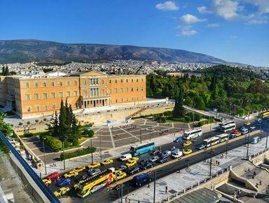 Один день в Афинах. Большая обзорная экскурсия на автомобиле и п