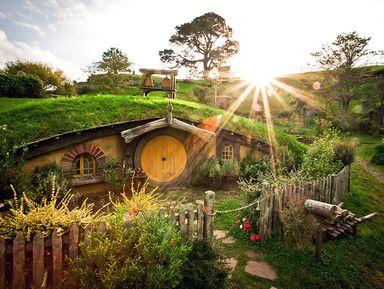 Экскурсия в Окленде: Хоббитон: нежданное путешествие вмир Толкина