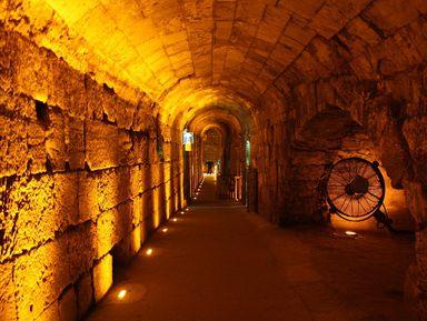 Тоннели у западной стены