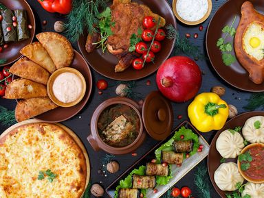 Многоголосье грузинской кухни
