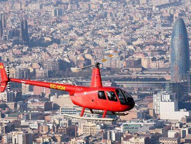 Полёт на вертолёте: 12 минут над городом