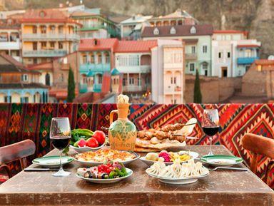 Тбилиси— улочки, вино ихачапури