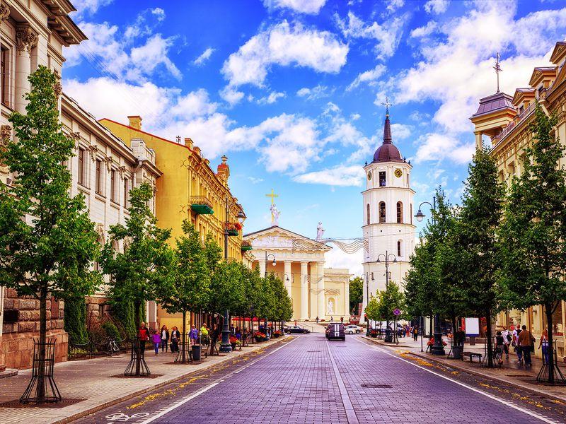 Экскурсия Вильнюс — прошлое и настоящее