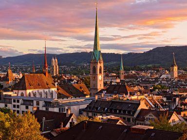 Экскурсия в Цюрихе: Старый центр Цюриха: по следам Ленина и древних римлян