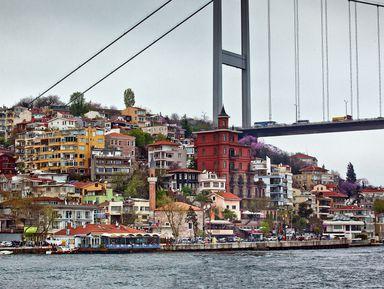 Панорама Босфора, или красота по-стамбульски