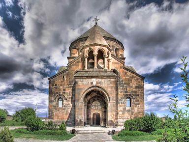 Древности Мецамора и храмы Эчмиадзина