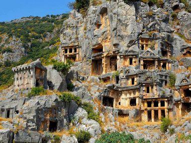 Дыхание древности: из Анталии в Миру, Демре ина остров Кекова