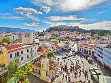 Онлайн-прогулка «Афины классические и современные»