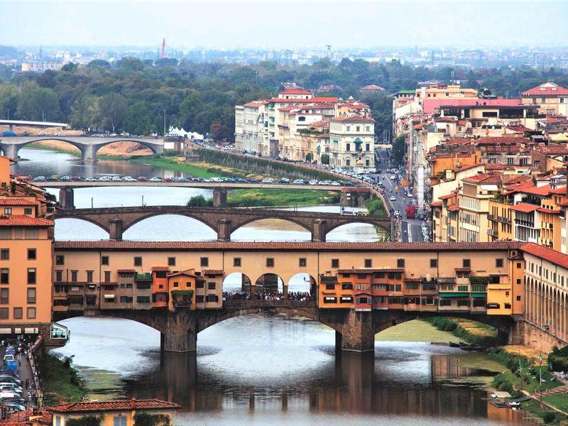 Три эпохи в жизни Флоренции: обзорная прогулка