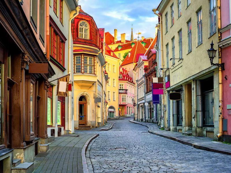 Экскурсия Таллин — первое свидание