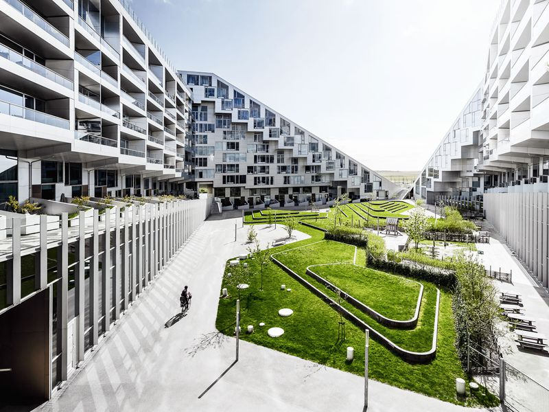 Современная архитектура Копенгагена: район Эрестад