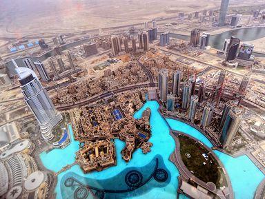 Современный Дубай и подъем на башню Бурдж Халифа