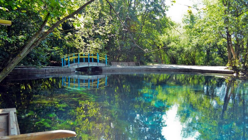 Голубые озёра— живописный уголок в окрестностях Казани
