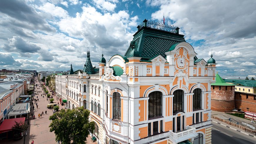 Нижний Новгород— столица Приволжья