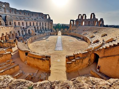 Африканский Колизей иВилла Африка— поездка изХаммамета