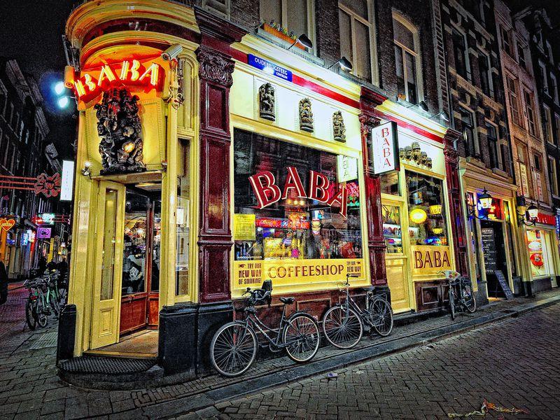 Кофешоп-тур в Амстердаме