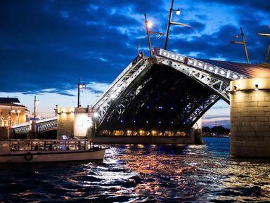 Водная экскурсия на развод мостов