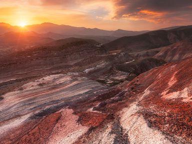 Агатовые горы Хызы