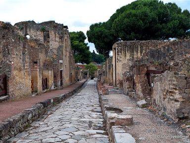 Эрколано-город, носящий имя Геркулеса