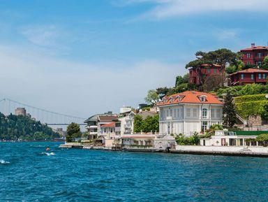 ПоБосфору— врайский уголок Стамбула!