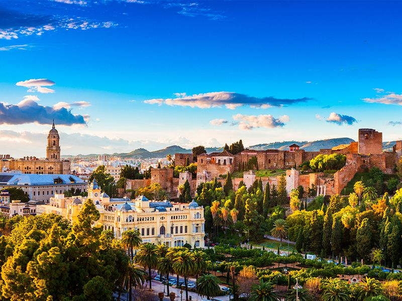 Обзорная экскурсия по Малаге c дегустацией вина