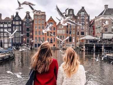 Инста-прогулка по Амстердаму