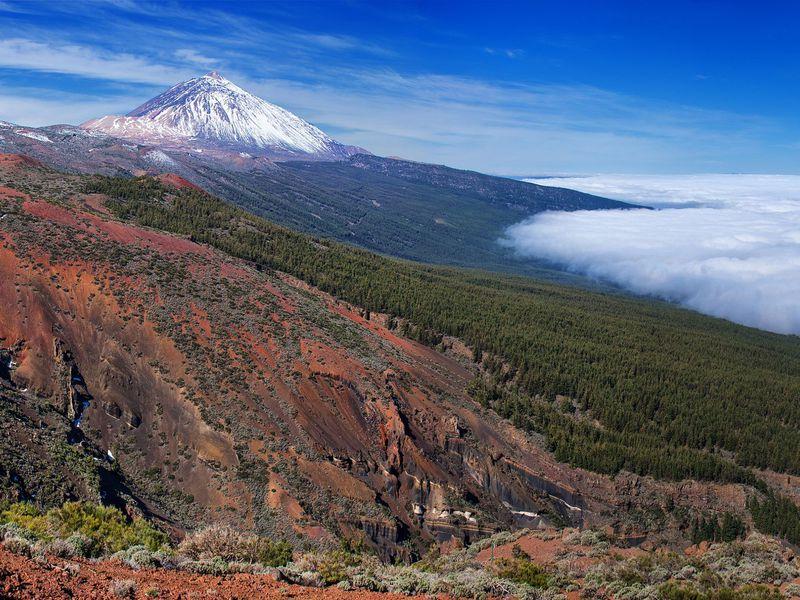 Фантастический вулкан Тейде width=