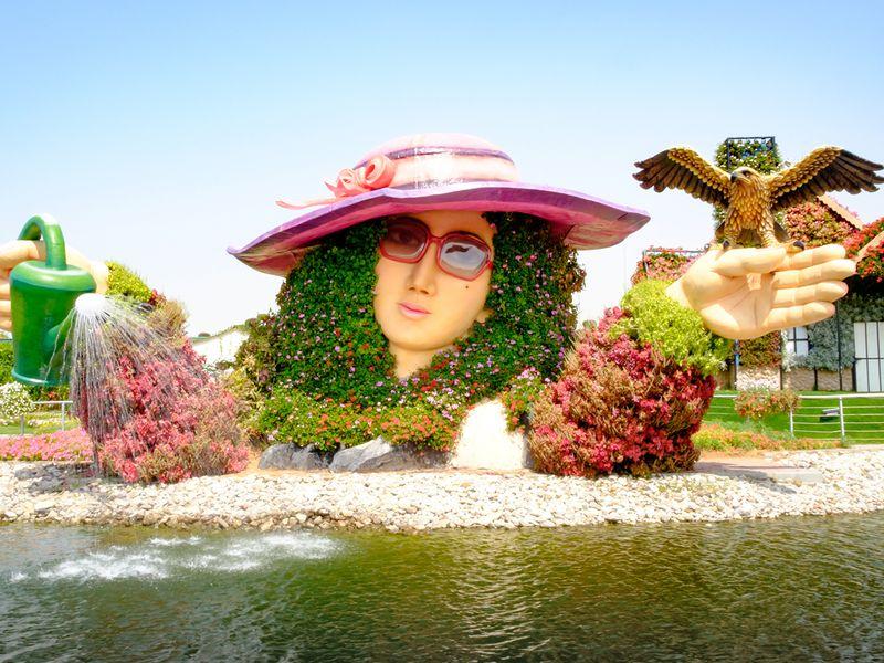 Экскурсия Цветущий сад иГлобал Вилладж— поразительные проекты Дубая