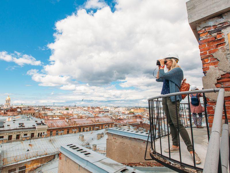 Экскурсия Безопасная прогулка по петербургской крыше