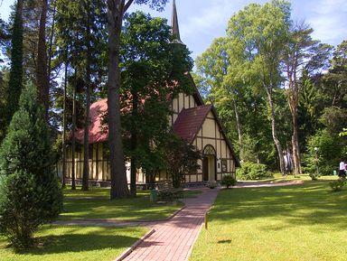 Курортные города Светлогорск и Зеленоградск