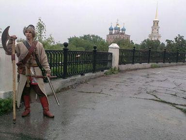 Переславль Рязанский 17 века. Прогулка со стрельцом