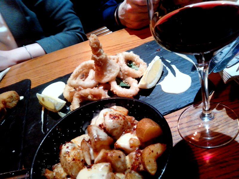 Экскурсия Мадрид со вкусом фасоли и кальмаров