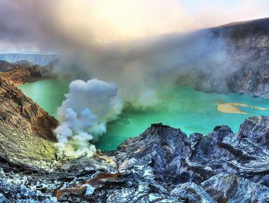 Восхождение на вулканы Иджен и Бромо