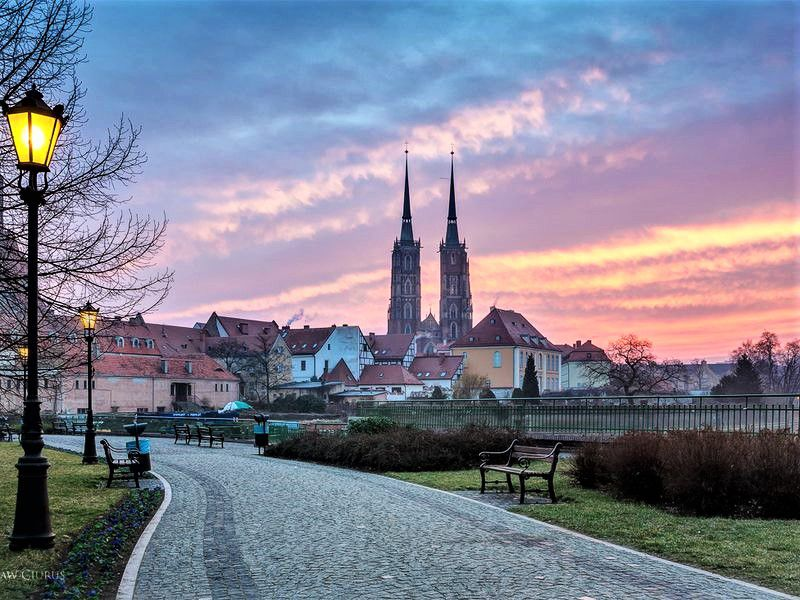 Онлайн-прогулка «Влюбиться во Вроцлав за 1,5 часа»