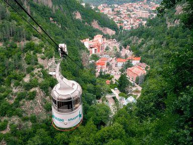 Боржоми-Уплисцихе. Зеленый рай и пещерный город
