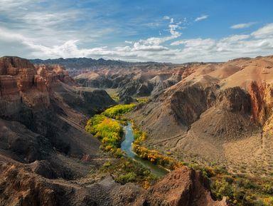 Чарынский каньон иДолина замков