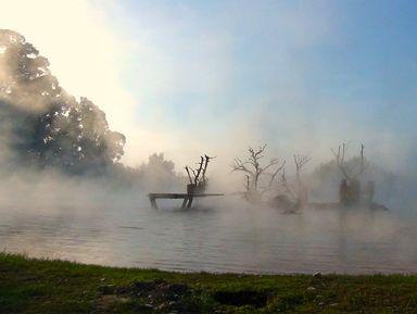 Природные термальные источники в селе Кындыг