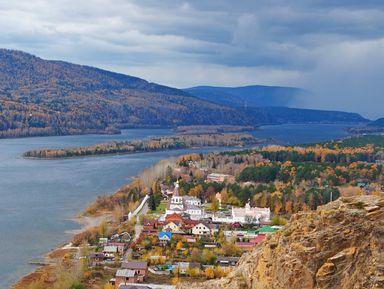Красноярск: нетипичными тропами вчерте города