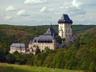 Чудеса Святой Горы и средневековый Карлштейн