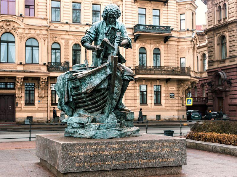 Экскурсия Царь-плотник: морская история Петербурга