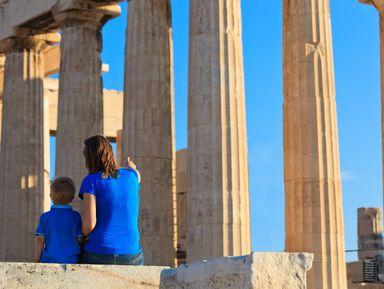 Афины для детей: путешествие на машине времени