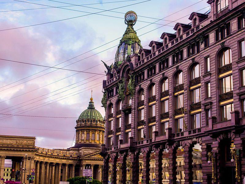 Экскурсия Прогулка по Невскому проспекту