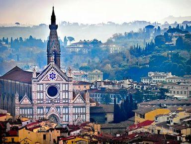 История Флоренции вбазилике Санта-Кроче