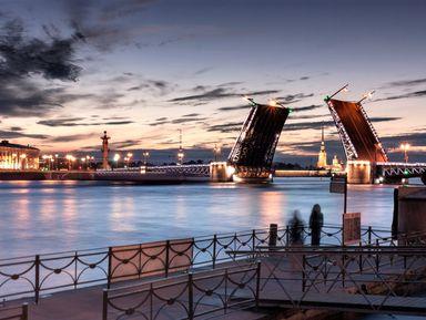 """Экскурсия """"Романтика белых ночей и разводных мостов"""": фото"""