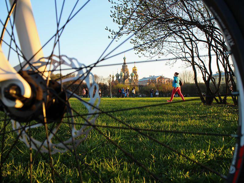 Экскурсия Велосипедная прогулка по центру Петербурга