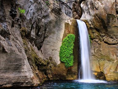 Кзаповедному каньону Сападере изАлании