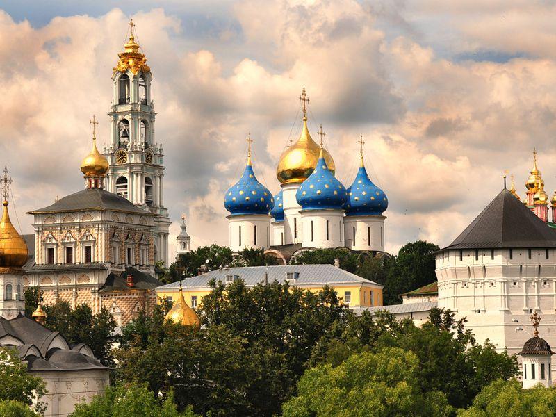 Экскурсия История Троице-Сергиева монастыря