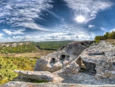 Живописное путешествие из Севастополя в Эски-Кермен